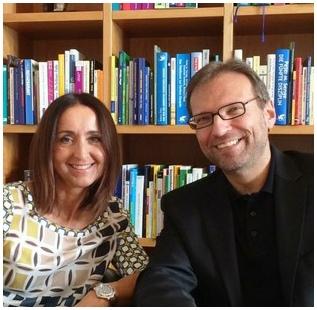 Die Grazer Paartherapeuten Dr. Astrid Wonisch und Dr. Werner Walisch